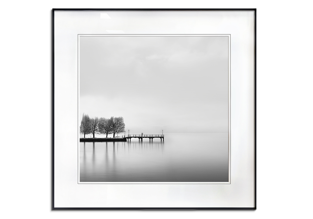 Pier with Tree by George Digalakis