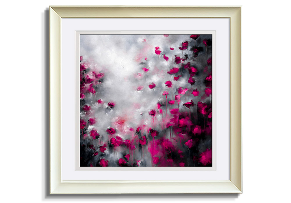 Velvet Kisses - Limited print   by Alison Johnson