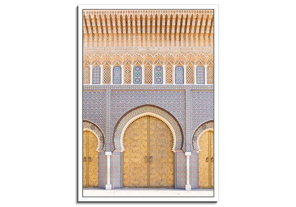Moroccan Doorway V by Lee Frost