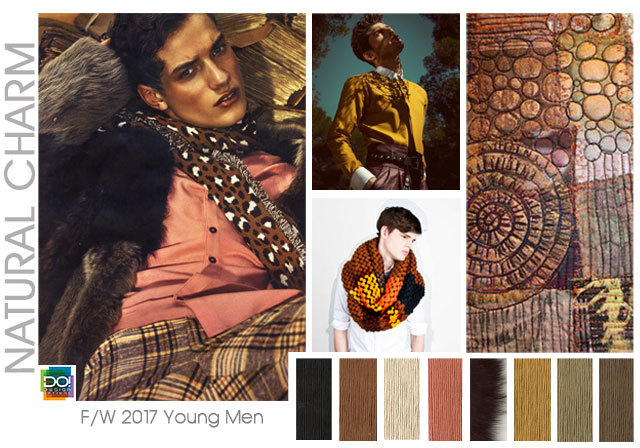 Designoptions Fw 17 18 Color Report On Weconnectfashion Young Men S Mood