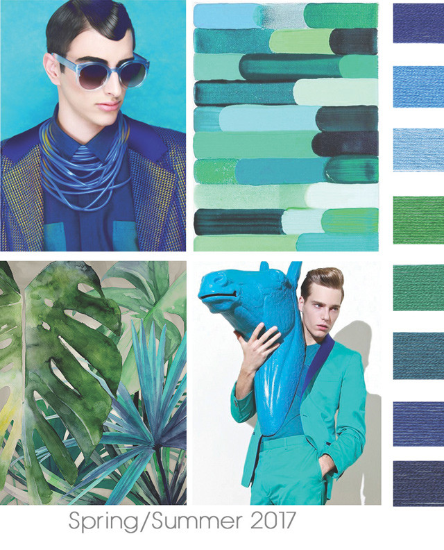 Designoptions Ss17 Color Report On Weconnectfashion Contemporary Men S Mood Details Just One