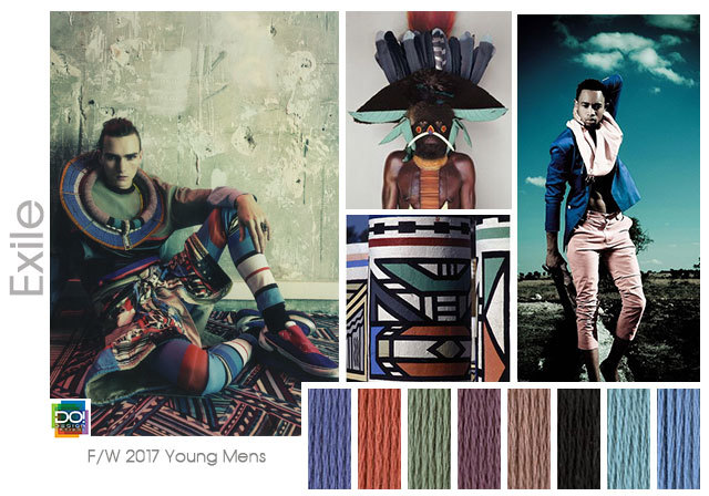 Designoptions Fw 17 18 Color On Weconnectfashion Young Men S Trend Exile