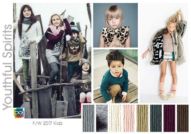 Designoptions Fw 17 18 Color On Weconnectfashion Kid S Trend Youthful Spirits