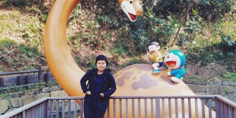 Mumpung lagi di Jepang, manfaatkan waktu untuk bertamu ke 'rumah' pencipta Doraemon.