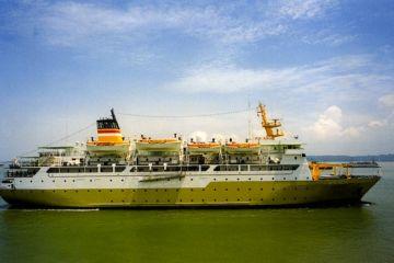 KM Awu, salah satu kapal milik PELNI yang beroperasi melayani pengangkutan ke berbagai daerah di Indonesia.