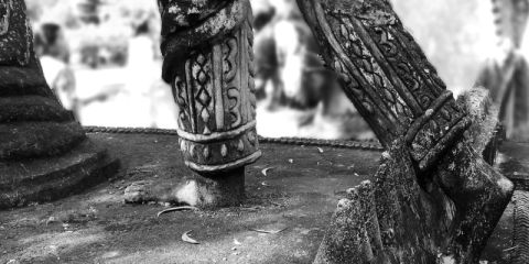 sala kaew buddhist feet