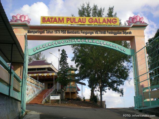 Pulau Galang menjadi penampungan pengungsi asal Vietnam pada 1979-1996.