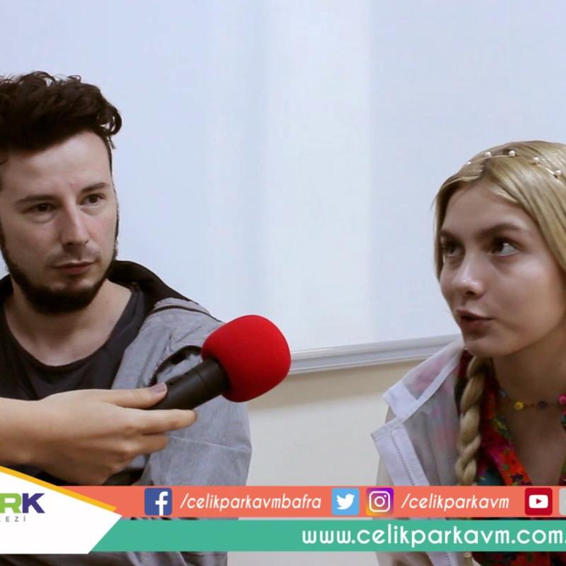 Aleyna Tilki ve Emrah Karaduman Röportajı