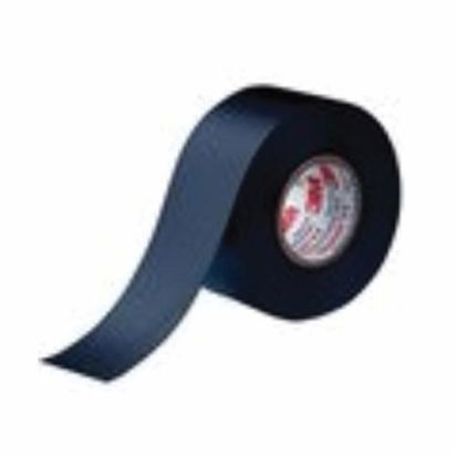 3M™ Scotch® 77B-3X20FT 77 Series Non-Adhesive Premium Grade Electrical Tape, 20 Ft L X 3 In W, 30 Mil Thk, Intumescent Elastomer Backing, Black