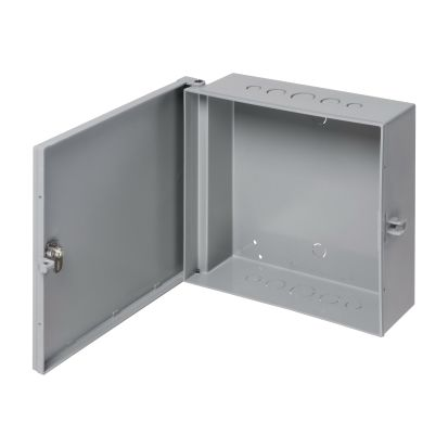Arlington EB0708BL Heavy Duty UV Rated Enclosure Box, 8.522 in L x 8.233 in W x 3.812 in D, NEMA 3R NEMA Rating, Plastic