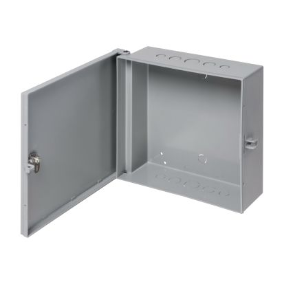 Arlington EB1212 Heavy Duty UV Rated Enclosure Box, 12.519 in L x 13.573 in W x 4.688 in D, NEMA 3R NEMA Rating, Plastic
