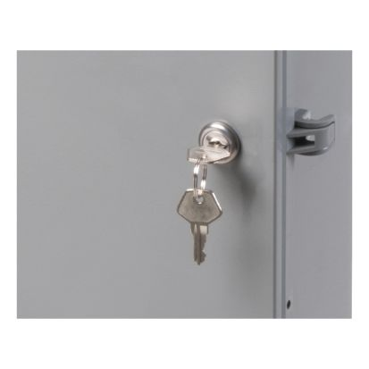 Arlington EBL1 Equipment Box Lock, For Use With Arlington Outdoor Rated Non-Metallic Enclosure Box, Plastic