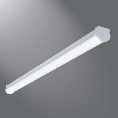 Cooper Lighting Metalux® All-Pro™ 4SLSTP4040DD-UNV Lensed Strip Light, (1) Led Lamp, 44 W Fixture, 120 To 277 VAC, Painted Housing
