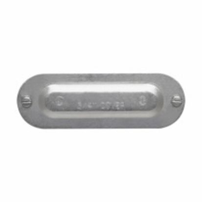 Eaton Crouse-Hinds series 850D 5 Series Conduit Body Cover, For Use With Rigid/IMC/EMT Conduits, Die Cast Copper Free Aluminum