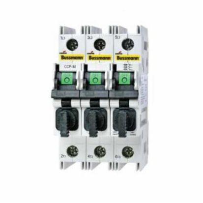 Eaton Bussmann Cubefuse® CCP-3-30CC Compact Circuit Protector, 600 VAC/125 VDC, 30 A, 3 Poles, Class CC Fuse, 18 To 6 AWG Wire