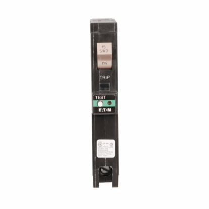 Eaton CHFCAF115PN Type CH Branch Feeder ARC Fault Circuit Breaker, 120/240 VAC, 15 A, 10 KA Interrupt, 1 Poles