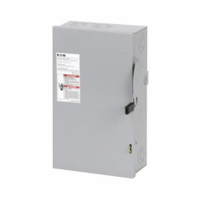 Eaton DG222NGB DG Series Cartridge Fusible General Duty Safety Switch, 240 VAC, 60 A, 3 to 10 hp, 7-1/2 to 15 hp, 2 Poles