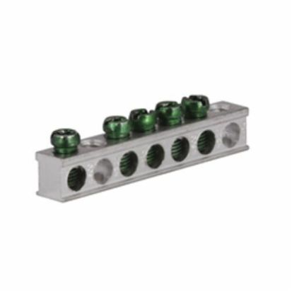 Eaton GBK5 Ground Bar Kit, For Use With 2/4-Circuit CH Loadcenter, 3/4 In Size, Aluminum/Copper