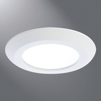 Cooper Lighting HALO Air-Tite® SLD606830WH SLD6 600 Recessed Downlight, LED Lamp, 12.2 W Fixture, 6 In Ceiling Opening, 120 VAC, Aluminum Housing
