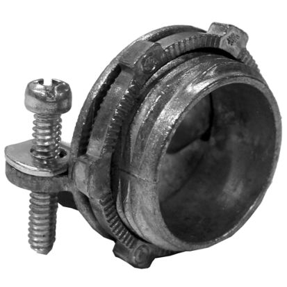 Appozgcomm NEER™ C-1251-R 2-Screw Service Entrance Cable Connector, 1-1/4 in Knockout, 3 AWG Conductor, Die Cast Zinc