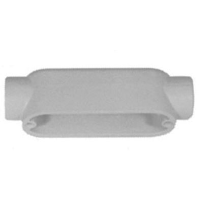 Emerson Electric Appleton® Unilets™ C100-A Type C Conduit Outlet Body, 1 In Hub, Form 85 Form, 11.8 cu-in Capacity, Pressure Cast Aluminum, Epoxy Powder Coated