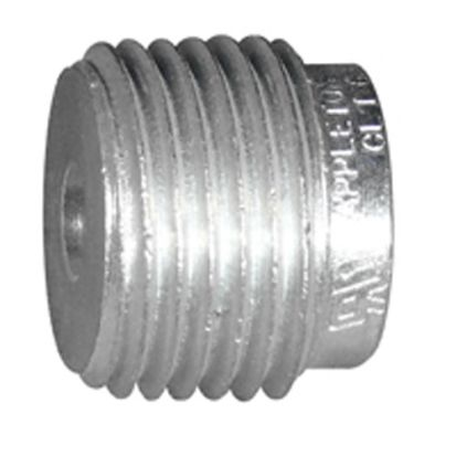 Emerson Electric Appleton® RB100-75 Reducing Bushing, 1 X 3/4 In Trade, Steel, Zinc Electroplated