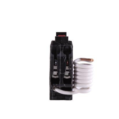 GE Q-Line® THQL1115gft Model 3 Self-Test Ground Fault Circuit Breaker, 120 VAC, 15 A, 10 KA Interrupt, 1 Poles, Non-InterchanGEable/LIG Trip