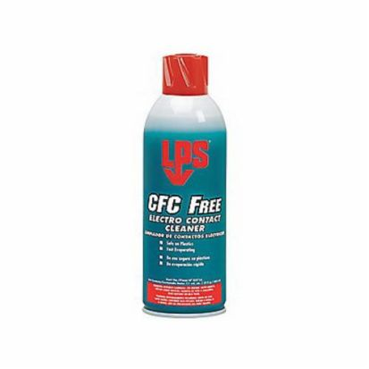 ITW Pro Brands LPS® 03116 CFC Free Electrical Contact Cleaner, 11 oz Aerosol Can, Liquid, Clear/Water White, Solvent