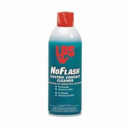 ITW Pro Brands LPS® 04016 NoFlash® Fast Evaporation Electro Contact Cleaner, 16 oz Aerosol Can, Strong Odor/Scent, Clear Glass, Liquid Form