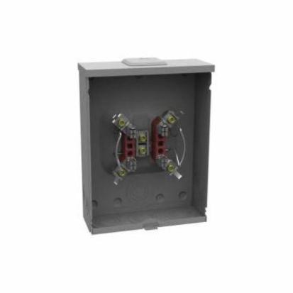 Milbank® U1773-XL-TG-KK 1-Position Meter Socket, 600 VAC, 200 A, 1 Phase, NEMA 3R Enclosure