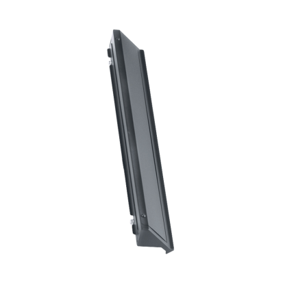Panduit® Net-Contain™ C2CAC08F08WPB1 Integral Roof Panel, 1-1/2 in H x 31.49 in W, Plastic/Steel, Black