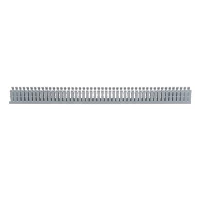 Panduit® F1X2LG6 Type F Narrow Slot Wall Wiring Duct, 0.2 in, 1.26 in W x 2 in D, Lead-Free PVC