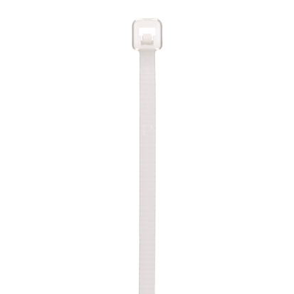 Panduit® Pan-Ty® PLT1M-M Cross Section Plenum Rated Miniature Cable Tie, 3.9 In L X 0.1 In W X 0.04 In Thk, Nylon 6.6