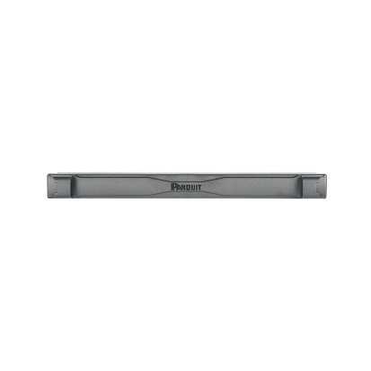 Panduit® TLBP1S-V Square Hole Tool Less Blanking Panel, 1.76 in H x 19 in W x 2 in D, ABS, Black