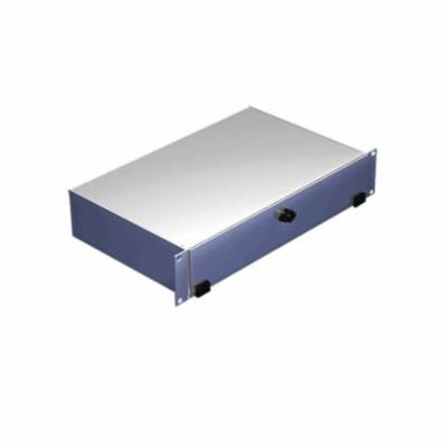 nVent HOFFMAN A19KBC2B DACCY Keyboard Compartment, 3-1/2 in H x 19 in W x 10.78 in D, Aluminum, Light Gray