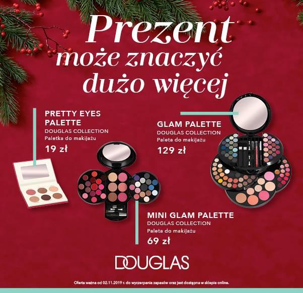 Dodatkowa oferta na paletki w Douglas