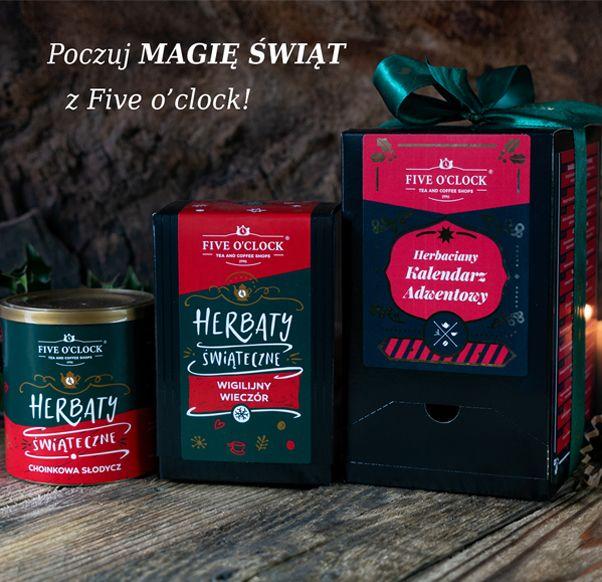 Poczuj magię Świąt z Five o'clock!