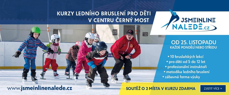 Kurzy ledního bruslení pro děti v CENTRU ČERNÝ MOST