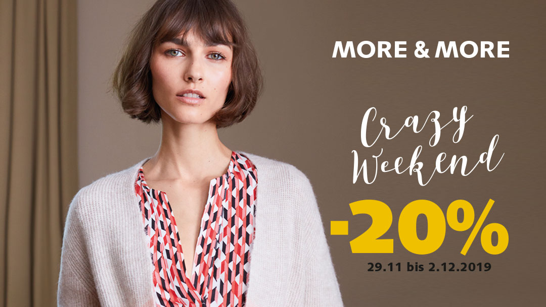 Crazy Weekend bei More&More