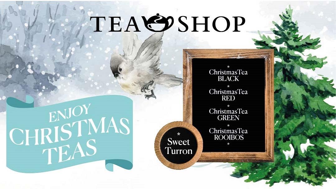 Nuevos tés de Navidad en Tea Shop