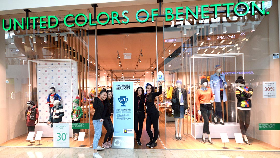 Star des Monats Oktober 2019 - Benetton