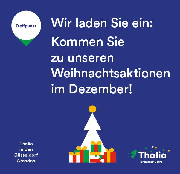 Weihnachtsaktionen bei Thalia