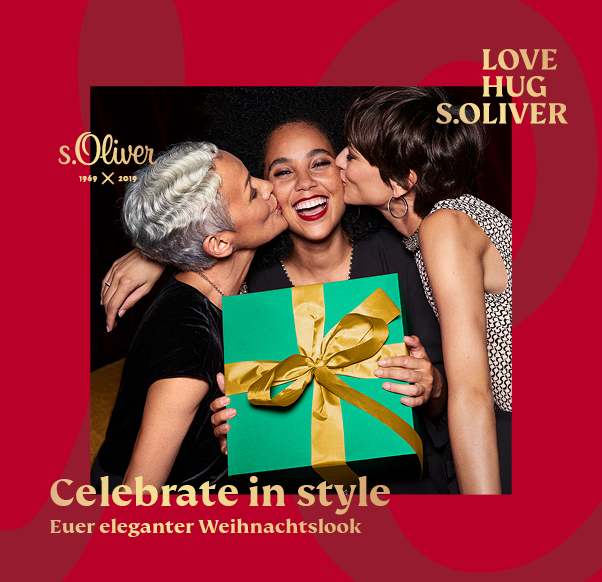 Celebrate with s.Oliver!