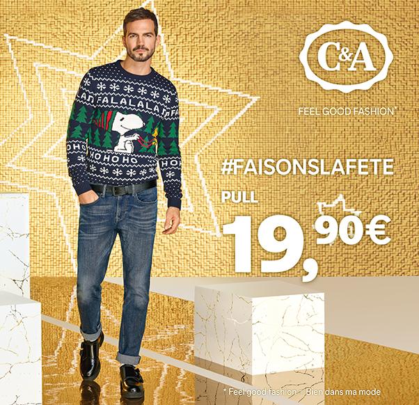 C&A – Pull de Noël