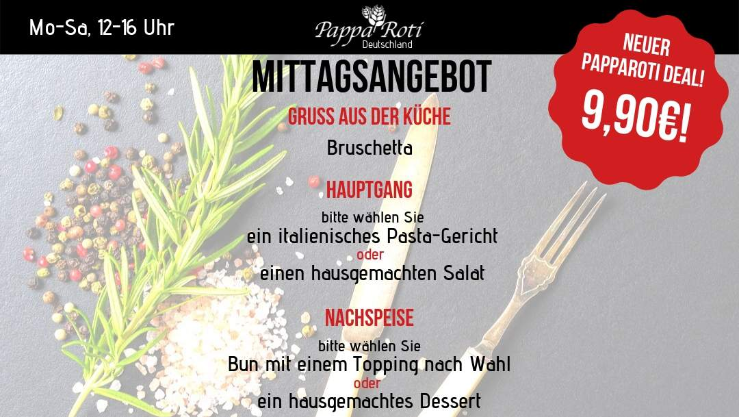 LUNCHTIME BEI PAPPA ROTI