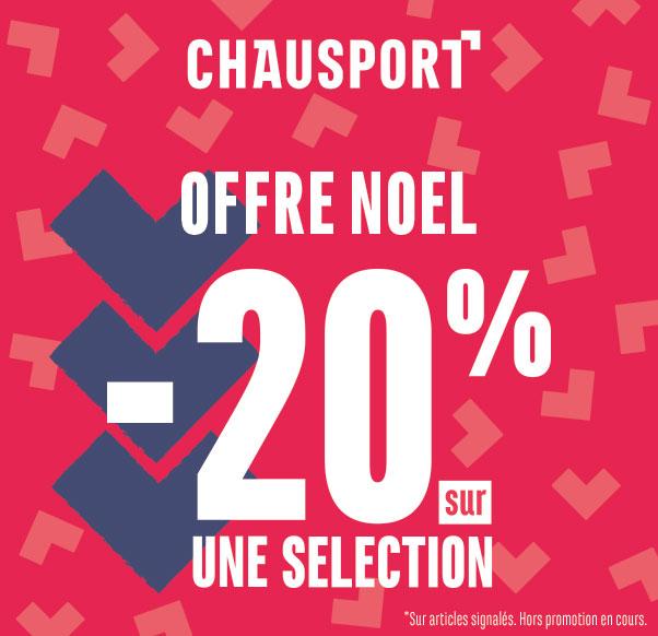Chausport offre Noel