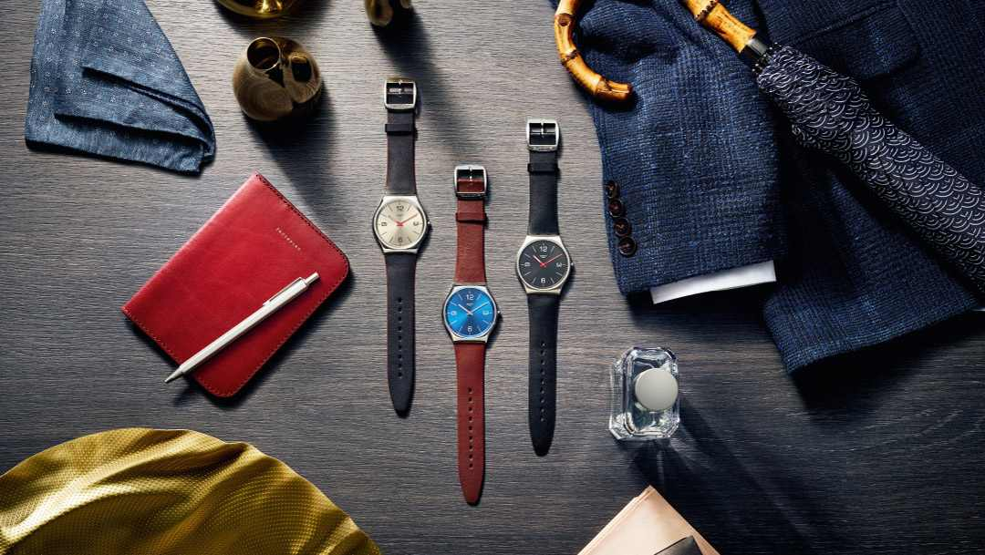 Elegancki zegarek Swatch na Święta