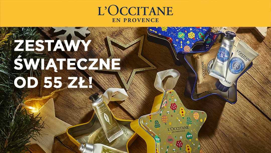 Promocja świąteczna w L'Occitane