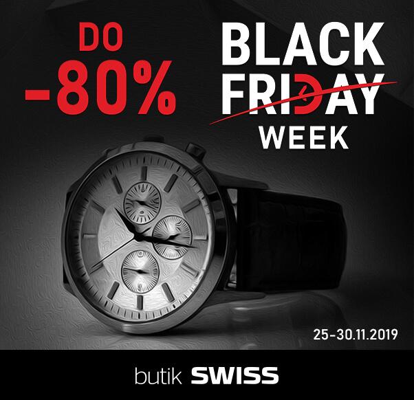 Black Friday w butiku Swiss
