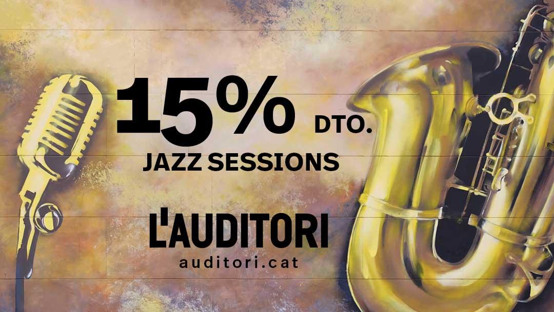 -15% descuento en las Jazz Sessions de L'Auditori